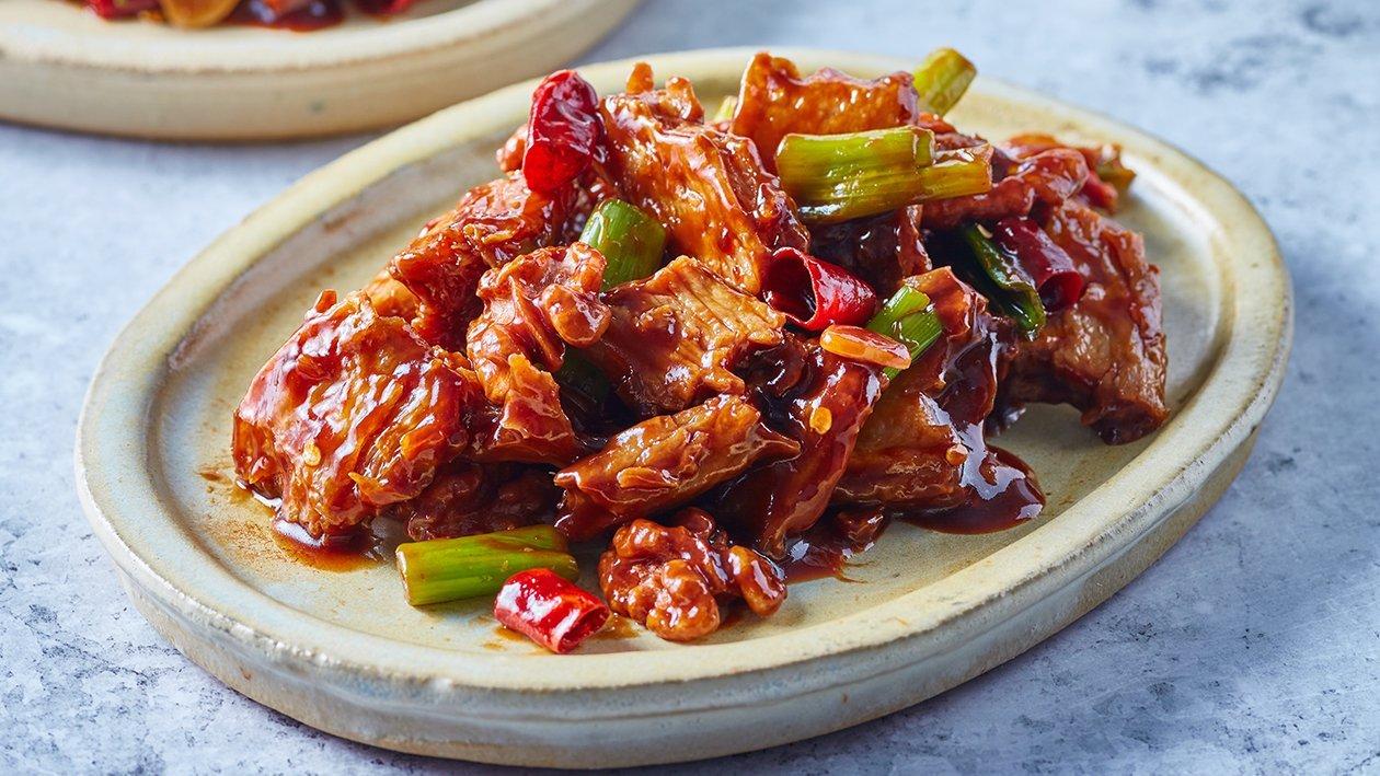 Stir-Fry Kung Po NoChicken