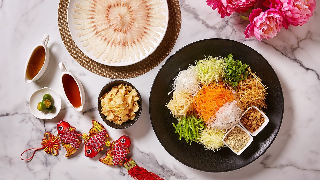 "Traditional Teochew ""Yu Sheng"""