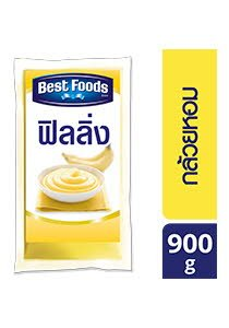 BEST FOODS Banana Flavoured Filling 900 g -