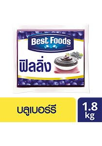 BEST FOODS Blueberry Flavoured Filling 1.8 kg
