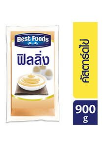 BEST FOODS Egg Custard Flavoured Filling 900 g -
