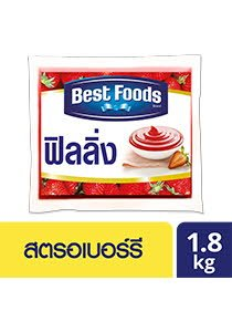 BEST FOODS LC Strawberry Flavoured Filling 1.8 kg -