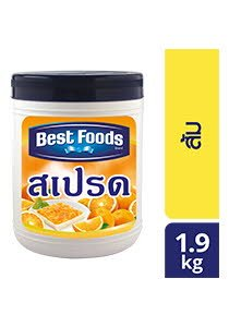 BEST FOODS Orange Spread FS 1.9 kg -