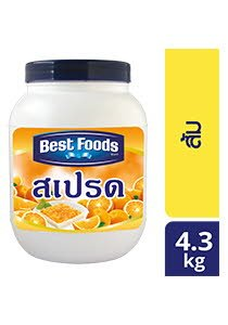 BEST FOODS Orange Spread FS 4.3 kg