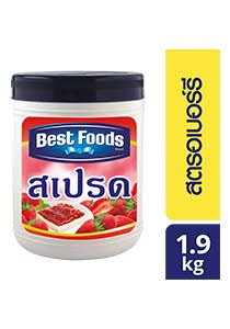 BEST FOODS Strawberry Spread 1.9 kg
