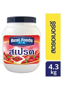 BEST FOODS Strawberry Spread 4.3 kg -