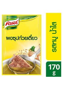 KNORR Clear Noodle Soup Powder Pork Flavoured 170 g -