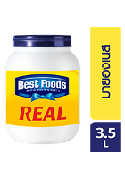 BEST FOODS Real Mayonnaise 3.5 L