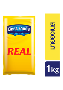 BEST FOODS Real Mayonnaise 1 kg - Best Foods Real Mayonnaise is the best base for sauce and dressing with authentic taste
