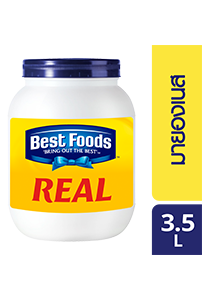 BEST FOODS Real Mayonnaise 3.5 L - Best Foods Real Mayonnaise is the best base for sauce and dressing with authentic taste