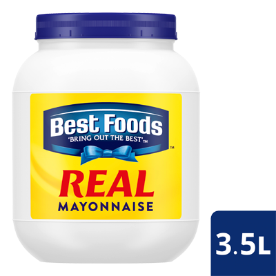 BEST FOODS Real Mayonnaise 3.5 L - The Best Mayonnaise base for salad dressing and dipping