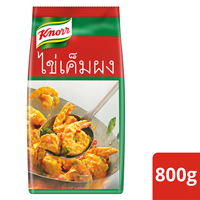 Knorr Golden Salted Egg Powder 800g - Knorr Golden Salted Egg Powder is a versatile ingredient for creating endless innovative dishes