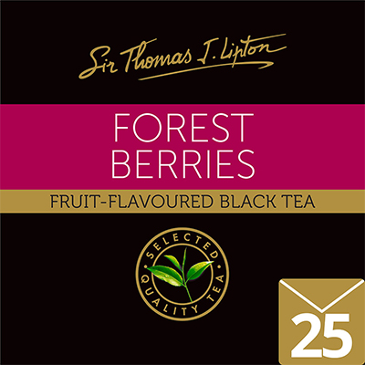 Sir Thomas J. Lipton Forest Berries 2 g - High quality tea with Rainforest Alliance Certified.