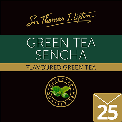 Sir Thomas J. Lipton Green Tea Sencha 1.6 g - High quality tea with Rainforest Alliance Certified.