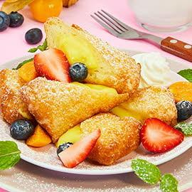 Happy Belly (Deep-Fried French Toast)