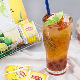 Ice-Lime Tea Jelly Tea