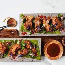 Marinated Thai-Style Pork Spareribs