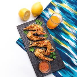 Stir-Fried Shrimp with Chilli and Garlic