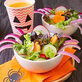 Surprising Spider Salad