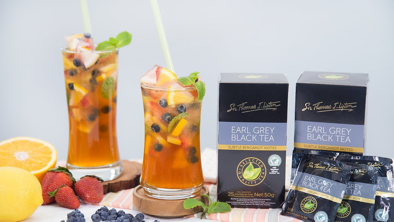 Fruit Cube Tea Soda