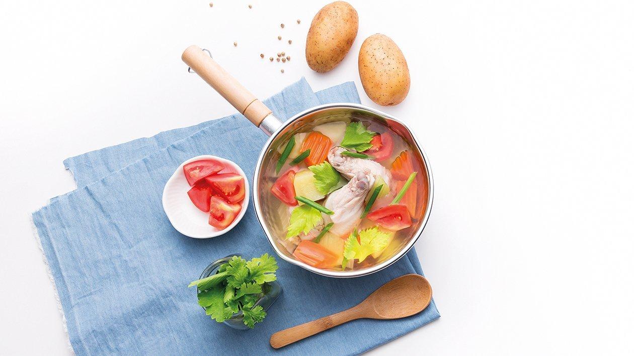 Light Chicken Soup