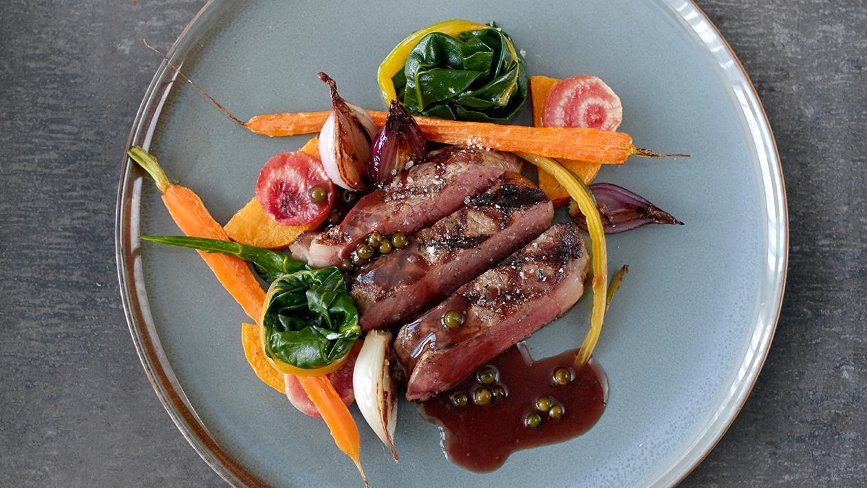 Roasted Rib-Eye Steak