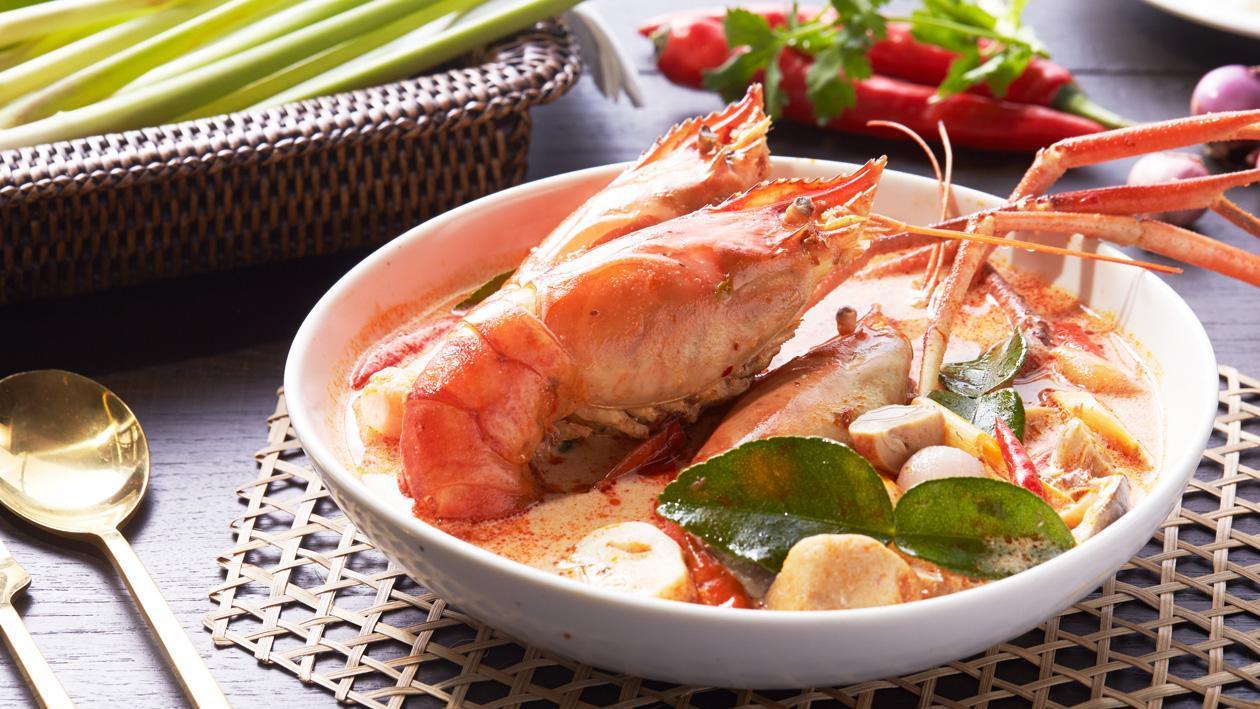 Savoury Tom Yum Goong