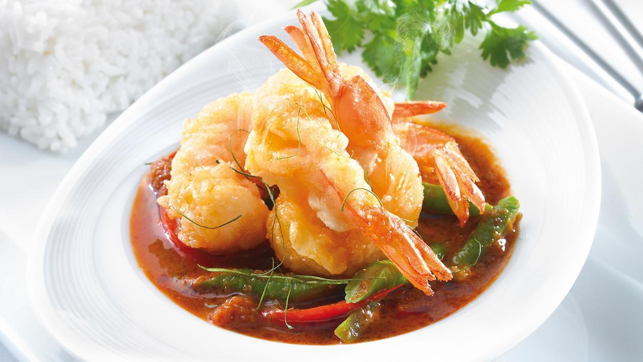 Stir Fried Red Chilli Paste with Shrimp