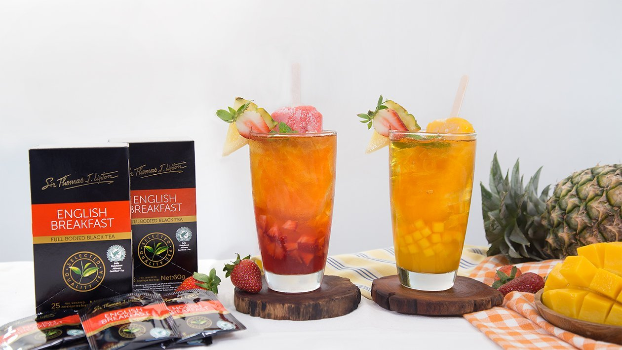 Summer Fruits Iced Tea