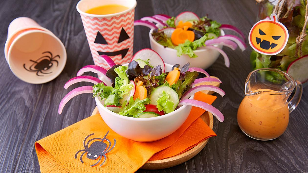 Surprising Spider Salad