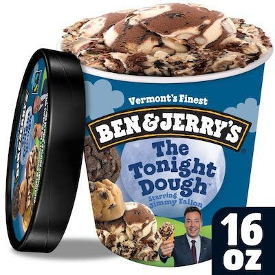 Ben & Jerry's The Tonight Dough® 8 x 16 oz -