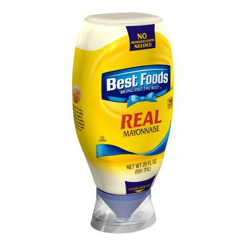 Best Foods® Mayonnaise Squeeze Bottle Real 20 ounces, 12 count