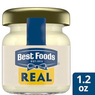 Best Foods® Real Mayonnaise 1.2 ounces, pack of 72 -