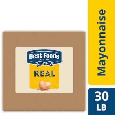 Best Foods® Real Mayonnaise Bag-in-a-Box 1 x 30 lb -