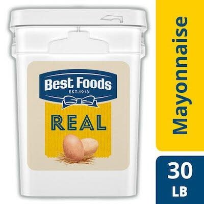 Best Foods® Real Mayonnaise Pail 4 gallons, 1 pack -