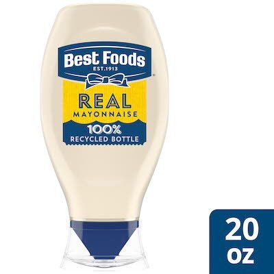 Best Foods® Real Mayonnaise Squeeze Bottle 12 x 20 oz -