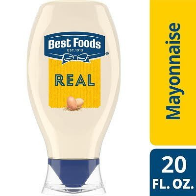 Best Foods® Real Mayonnaise Squeeze Bottle 20 ounces, 12 count -