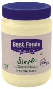 Best Foods Simple Mayonnaise - 10048001675329