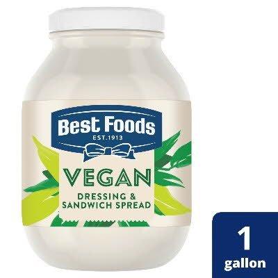Best Foods® Vegan Mayo 4 x 1 gal -