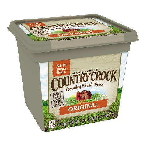 Country Crock® Whipped Tubs 5 pounds, pack of 6 -
