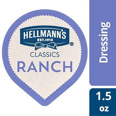 Hellmann's® Classics Ranch 1.5 ounces, pack of 108