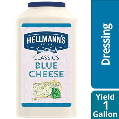 Hellmann's® Classics Salad Dressing Jug Blue Cheese 1 Gallon, Pack of 4