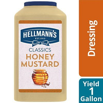 Hellmann's® Classics Salad Dressing Jug Honey Mustard 1 Gallon, Pack of 4