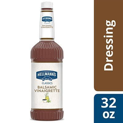 Hellmann's® Classics Salad Dressing Salad Bar Bottle Balsamic Vinaigrette 32 Ounces, Pack of 6