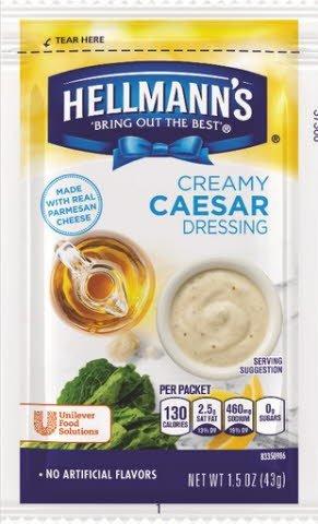 Hellmann's® Creamy Caesar, pouches