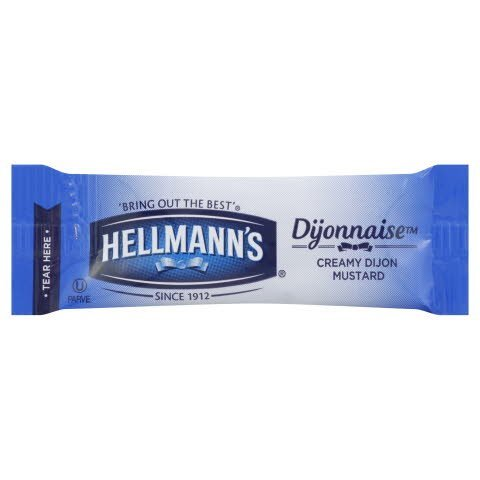Hellmann's® dijonnasie portion control packet