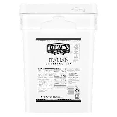 Hellmann's® Italian Dressing Dry Mix 1 x 25 lb -