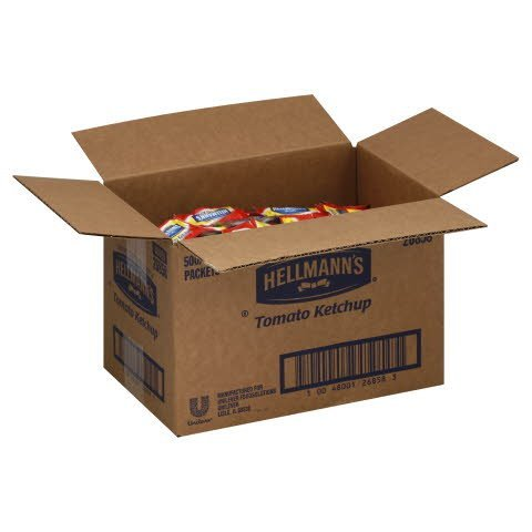 Hellmann's® KETCHUP PORTION CONTROL PACKET - 10048001268583