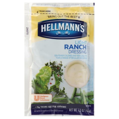 Hellmann's® Light Ranch, pouches