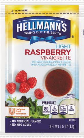 Hellmann's® Light Raspberry Vinaigrette PC - 10048001199009